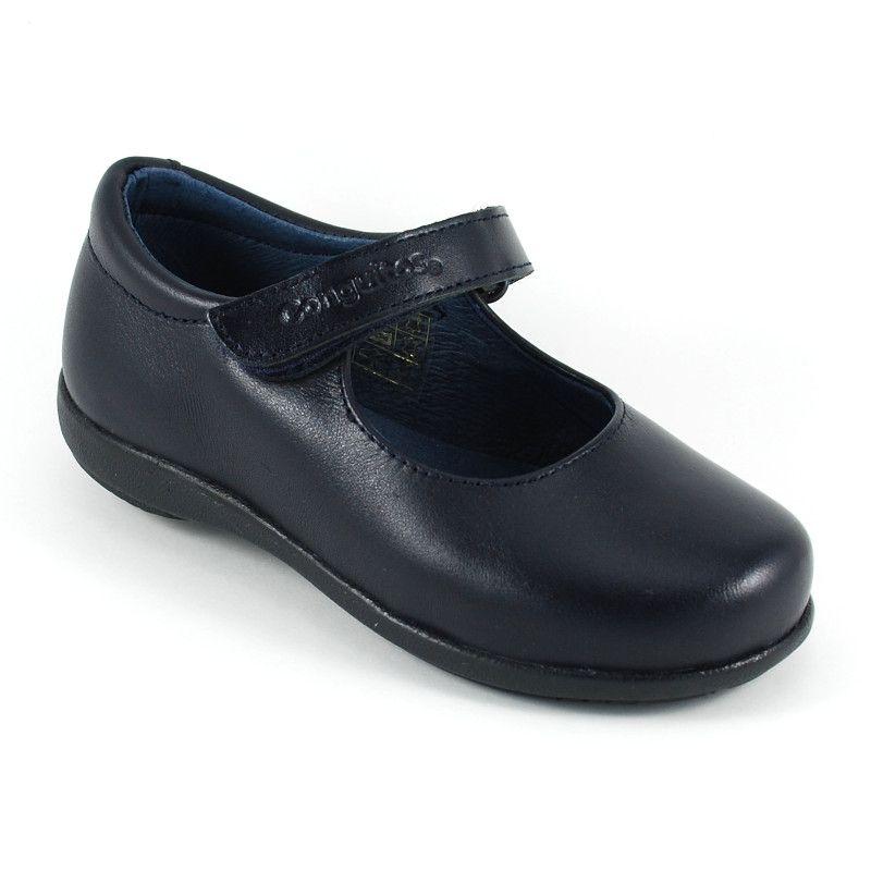 Zapatos Colegial Escolares Conguitos mercedita Niña Velcro - Conguitos (TALLA PEQUEÑA)