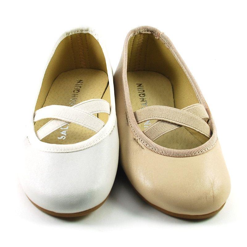 Bailarina - Manoletina Ballet Piel (TALLA GRANDE)