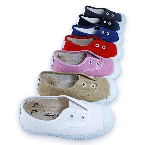 f10260a8579 Venta online de zapatillas Lona para niño y niña La Cadena sin ...