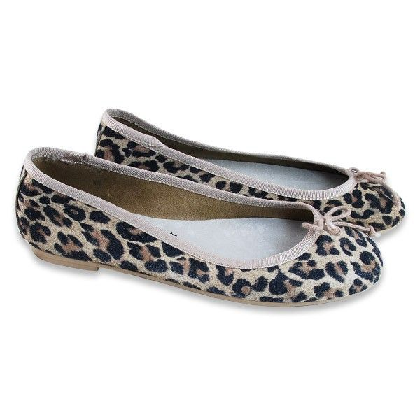 Bailarina / Manoletina Leopardo Lacito (TALLA PEQUEÑA)